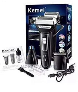 Multifunction Shaver Kemei Km-6558 3 in 1 Rechargeable | Home Accessories for sale in Addis Ababa, Bole
