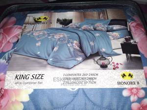 King Size 4 Pcs Comforter Set | Home Accessories for sale in Addis Ababa, Lideta
