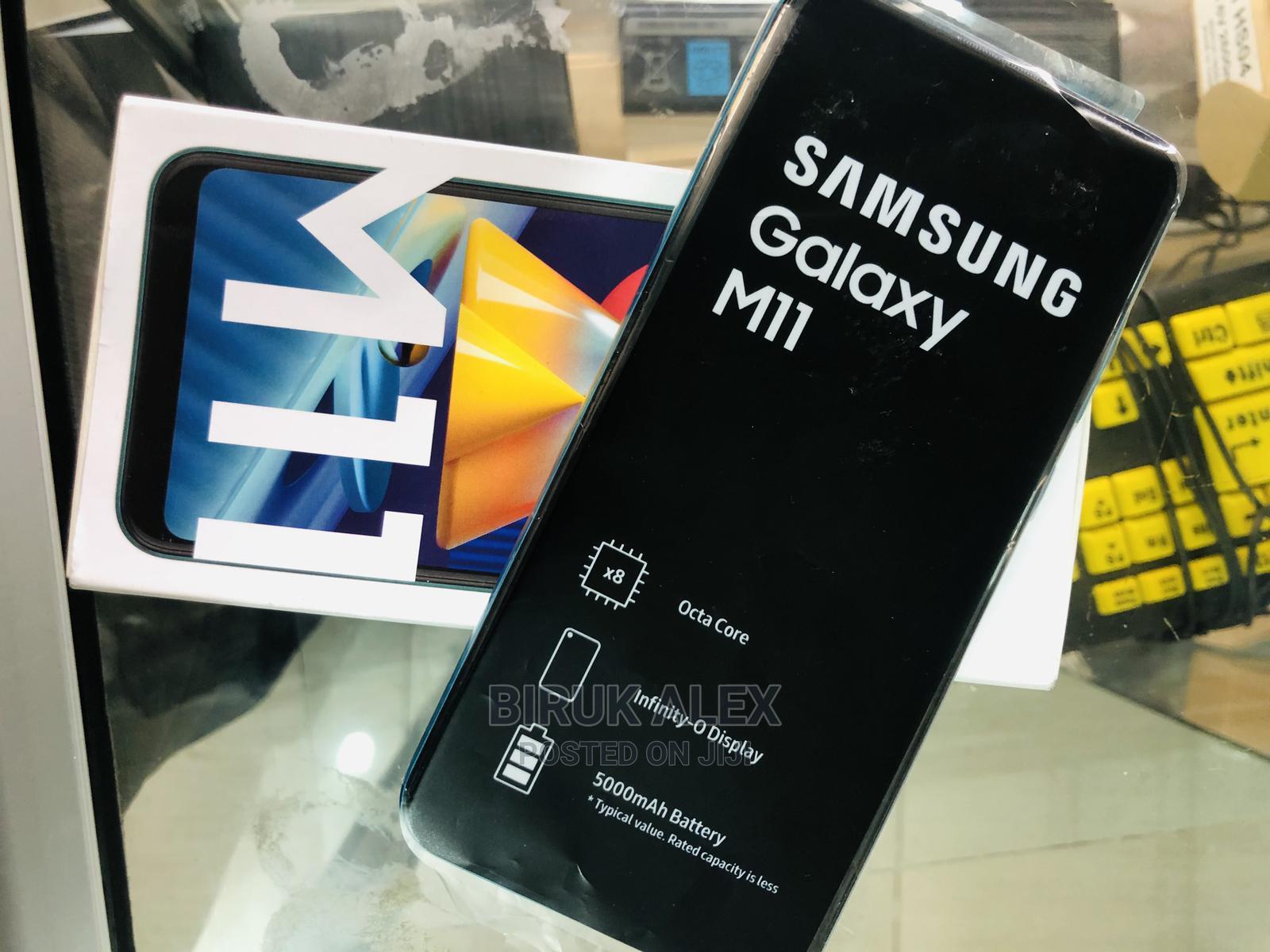 Archive: New Samsung Galaxy M11 32 GB Blue