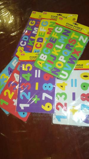 Alphabet and Numbers Foam Puzzle | Toys for sale in Addis Ababa, Bole