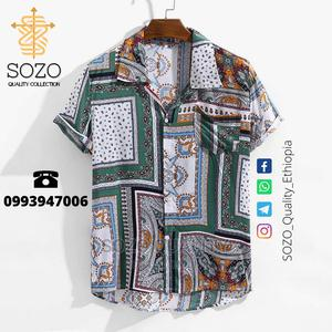 Hawaiian Blouse Men Shirt   Clothing for sale in Addis Ababa, Kirkos