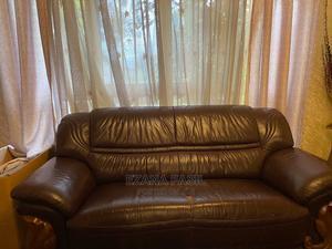 Salon Leather Sofa | Furniture for sale in Addis Ababa, Bole