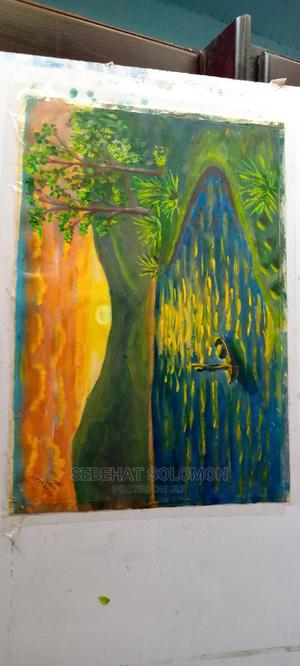 Sunrise Oil Painting on Hard Paper | Arts & Crafts for sale in Addis Ababa, Yeka