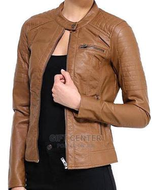 Pure Leather Original Ladies Leather Jacket | Clothing for sale in Addis Ababa, Yeka