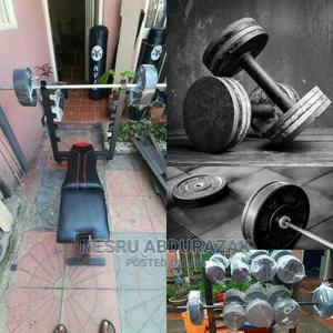 Dumbbel and Barbell | Sports Equipment for sale in Addis Ababa, Akaky Kaliti