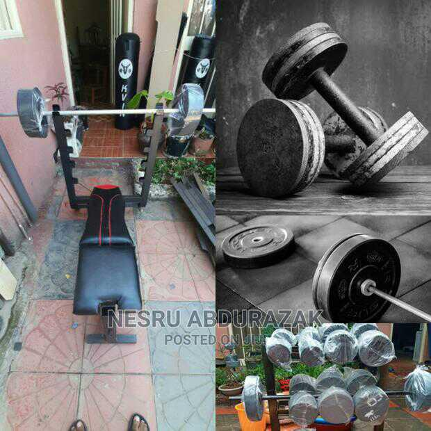 Dumbbel and Barbell