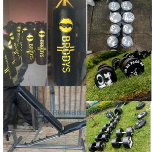 Dumbbell and Barbell | Sports Equipment for sale in Addis Ababa, Yeka