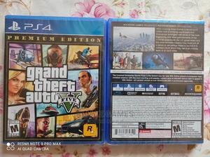 GTA 5 Premium Edition Playstation 4 (Ps4 Game CD) | Video Games for sale in Addis Ababa, Bole