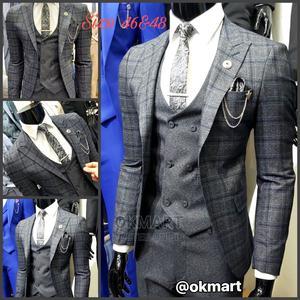 Turkish 3pc Suit | Clothing for sale in Addis Ababa, Kolfe Keranio