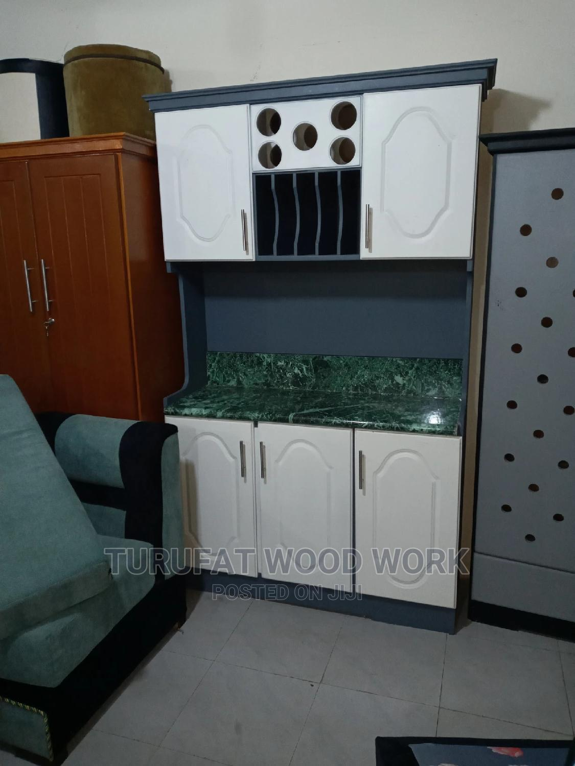 New 1.20cm Kitchen Cabinet   Furniture for sale in Yeka, Addis Ababa, Ethiopia