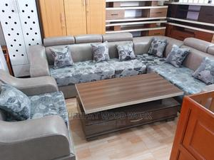 New L-Shape Leather Sofa | Furniture for sale in Addis Ababa, Yeka