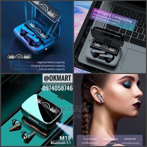 M19 Earbuds | Headphones for sale in Addis Ababa, Kolfe Keranio