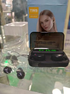 TWS F9 Wireless Earbuds | Headphones for sale in Addis Ababa, Akaky Kaliti