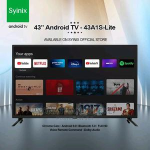 """Syinix 43"""" Smart Android TV   TV & DVD Equipment for sale in Addis Ababa, Yeka"""