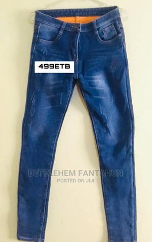 Jeans(Inner Part Is Cotton and Very Comfy)   Clothing for sale in Addis Ababa, Yeka