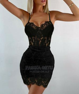 Black Lace Dress | Clothing for sale in Addis Ababa, Bole