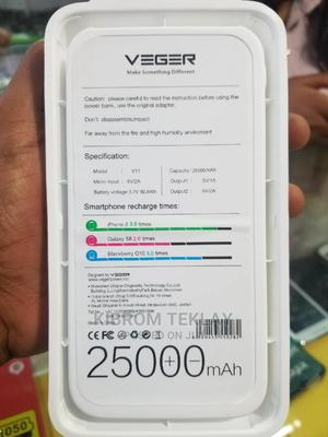 Veger Power Bank 25000 Mah | Accessories for Mobile Phones & Tablets for sale in Addis Ababa, Addis Ketema