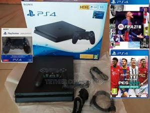 Original New Ps4 Slim 1tb 40 Games   Video Game Consoles for sale in Addis Ababa, Nifas Silk-Lafto