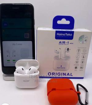 Air-1 Mini Earpod Free Cover | Headphones for sale in Addis Ababa, Nifas Silk-Lafto