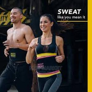 Sweet Sweat Waist Trimmer Belt For Men Women | Sports Equipment for sale in Addis Ababa, Yeka