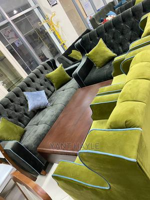 Sofa And Tables | Furniture for sale in Addis Ababa, Nifas Silk-Lafto