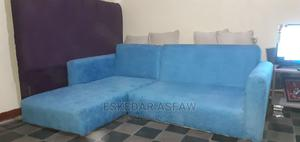Small L Shape Sofa for Sell   Furniture for sale in Addis Ababa, Arada