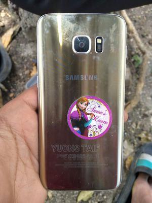Samsung Galaxy S6 edge 32 GB Gold | Mobile Phones for sale in Addis Ababa, Kolfe Keranio