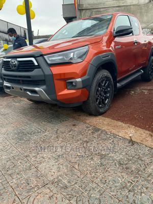 New Toyota Hilux 2021 Orange | Cars for sale in Addis Ababa, Bole