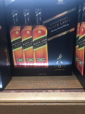 Black Label Whisky 3X1L Bottles in One Package | Meals & Drinks for sale in Addis Ababa, Nifas Silk-Lafto