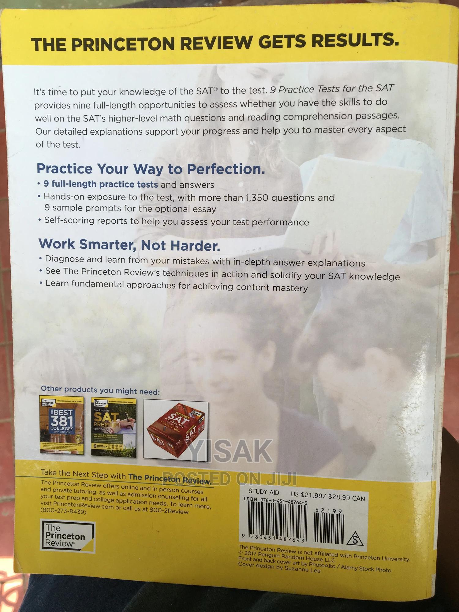9 Practice Tests for the SAT | Books & Games for sale in Yeka, Addis Ababa, Ethiopia