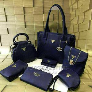 Prada Set Bags 7 in 1perfect Gift for Ur Girl Triple Zipper   Bags for sale in Addis Ababa, Gullele