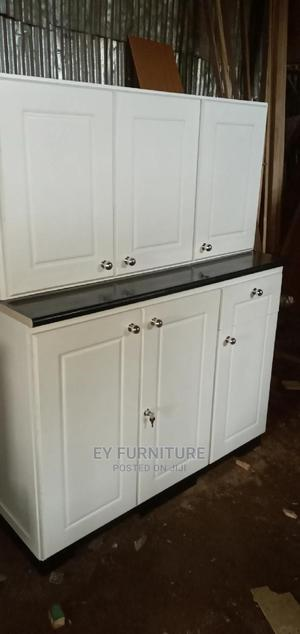 120 Kitchen Cabinet With Laminate Counter Top   Furniture for sale in Addis Ababa, Nifas Silk-Lafto