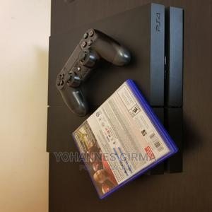 [Good as New] Playstation 4 + Game CD   Video Game Consoles for sale in Addis Ababa, Nifas Silk-Lafto