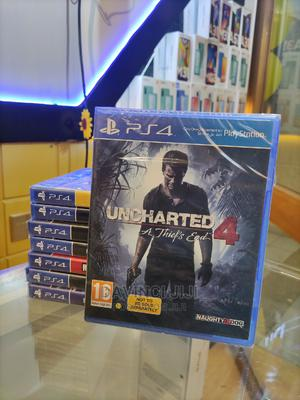 Uncharted 4: A Thief's End | Video Games for sale in Addis Ababa, Bole