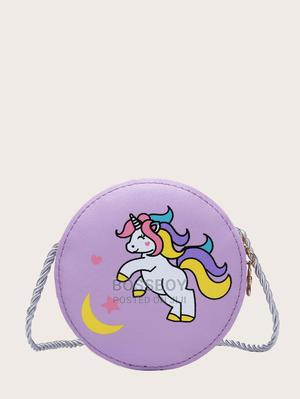 Toddler Girls Unicorn Pattern Crossbody Bag | Babies & Kids Accessories for sale in Addis Ababa, Bole