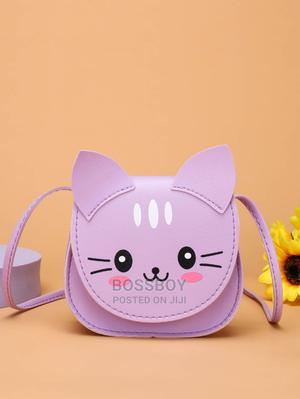 Girls Cartoon Cat Graphic Bag | Babies & Kids Accessories for sale in Addis Ababa, Bole