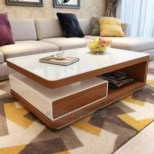Modern Elegant Center Piece Coffee Table | Furniture for sale in Addis Ababa, Nifas Silk-Lafto