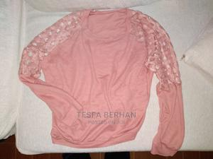 Trendy Light Baby Pink Hoody | Clothing for sale in Addis Ababa, Arada