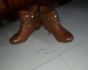 Light Brown Ankle Boots | Shoes for sale in Addis Ababa, Nifas Silk-Lafto