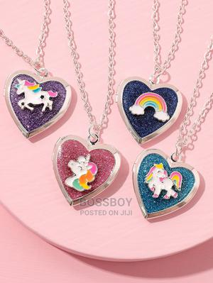 4pcs Toddler Girls Unicorn Decor Necklace | Babies & Kids Accessories for sale in Addis Ababa, Bole