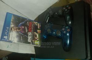 PS4 Slim With 2 Joystick | Video Game Consoles for sale in Addis Ababa, Lideta
