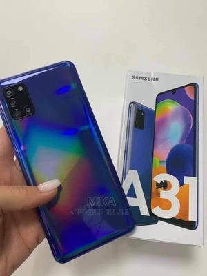 New Samsung Galaxy A31 128 GB Blue   Mobile Phones for sale in Addis Ababa, Bole