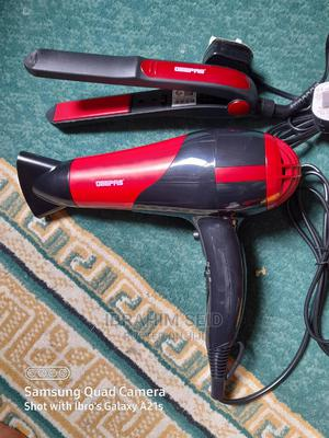 Geepas Hair Straightener and Dryer | Tools & Accessories for sale in Addis Ababa, Nifas Silk-Lafto
