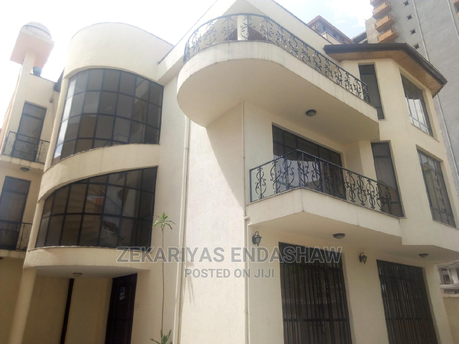 Furnished 8bdrm House in Bole for Rent