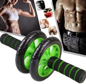 Ab Wheel Roller With Mat | Sports Equipment for sale in Addis Ababa, Bole