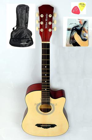 38 Inch Mike Music Acoustic Guitar With Bag Capo Picks (Na | Musical Instruments & Gear for sale in SNNPR, Gamo