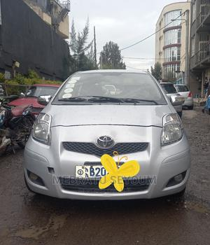 Toyota Yaris 2010 Base Hatchback 5dr Silver | Cars for sale in Addis Ababa, Bole