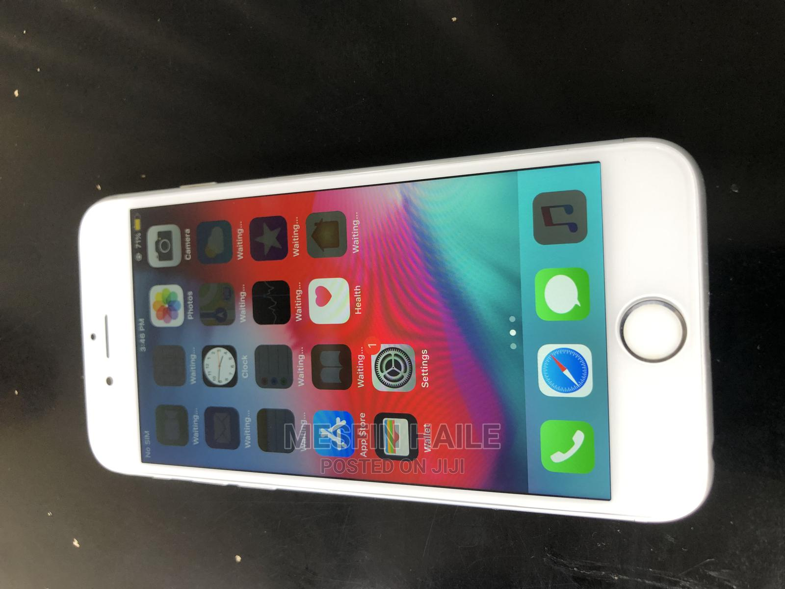 Apple iPhone 6 128 GB Silver   Mobile Phones for sale in Addis Ketema, Addis Ababa, Ethiopia