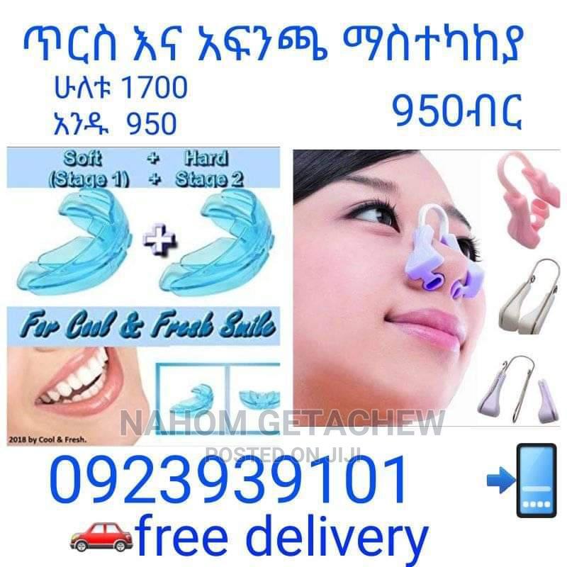 Teeth and Nose Corrector