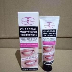 DR. Rachel Charcoal Whitening Toothpaste | Bath & Body for sale in Addis Ababa, Bole